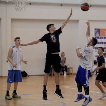 Screenshot taken during the 3on3 event of the 3rd Crete International Bsketball Tournament