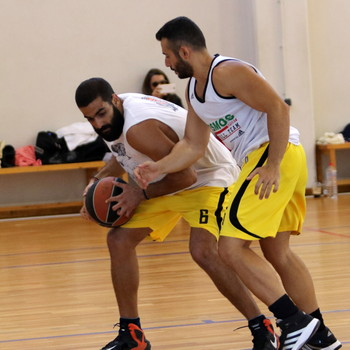 Screenshot taken during the 3on3 event of the 1st Crete International Bsketball Tournament